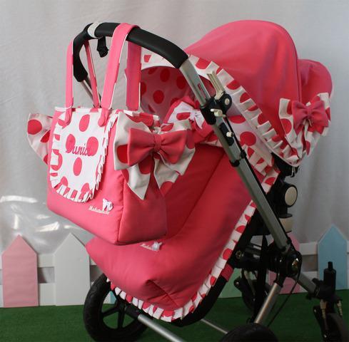 Fundas y conjuntos para carrito bebe bugaboo, maclaren,