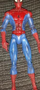 Figura spider-man (marvel legends)