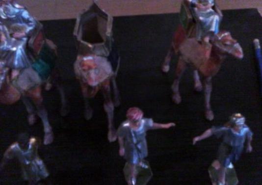 Figuritas belén años 70