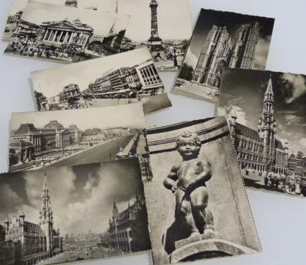 Fotografías antiguas de bruselas