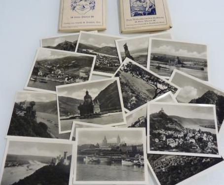 Fotografías antiguas de vistas desde el rin