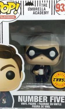 Funko Pop Number Five 932 Chase
