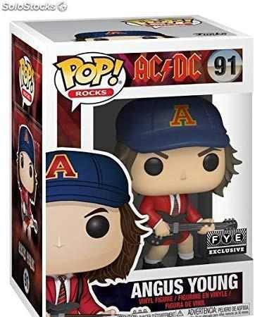 Funko pop rocks: acdc - angus young