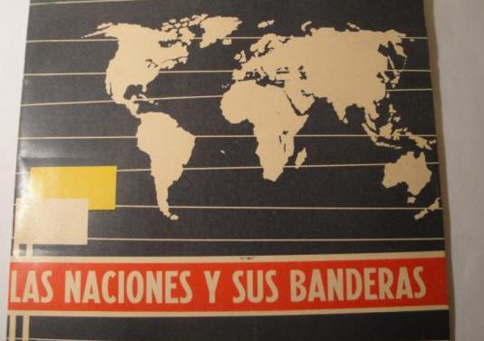 Las naciones y sus banderas.año 1964