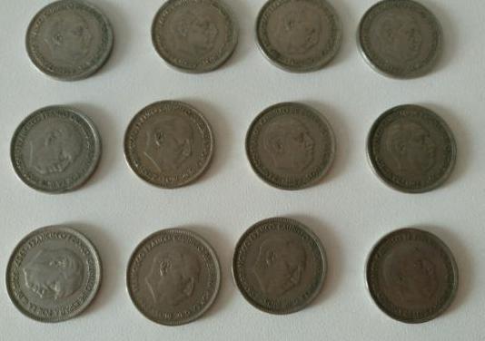 Monedas pesetas de franco