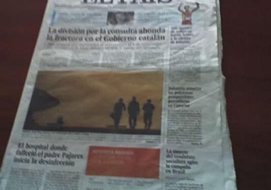 Periódico lauren bacalle