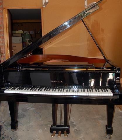 Piano de cola samick sg-155. oportunidad