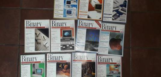 Revista informática binary 1989 completo