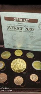 Suecia proof. 2003