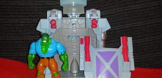 The incredible hulk, celda de contención