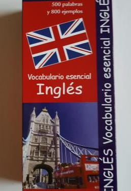 Vocabulario esencial de inglés (500 fichas)