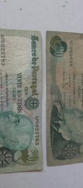 Billetes de 20 escudos 1978.precio unidad