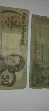 Billetes escudos 1964 y 1968.precio unidad