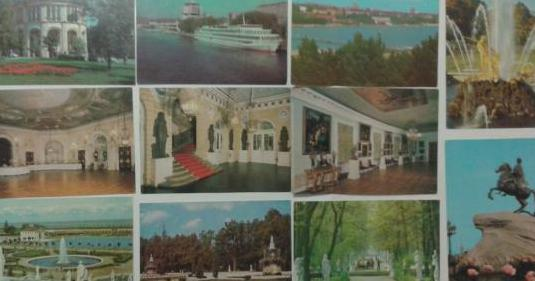 Lotes de postales rusia, colombia, juan pablo ii