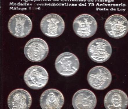Monedas agrupacion cofradias malaga