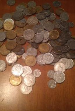 Monedas antiguas escucho ofertas
