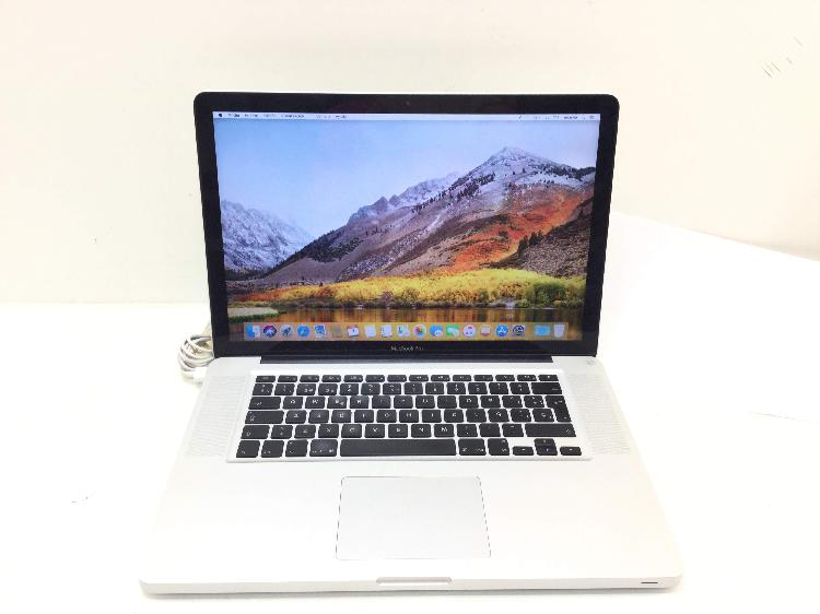 Portatil apple apple macbook pro core i7 2.2 15 (2011)
