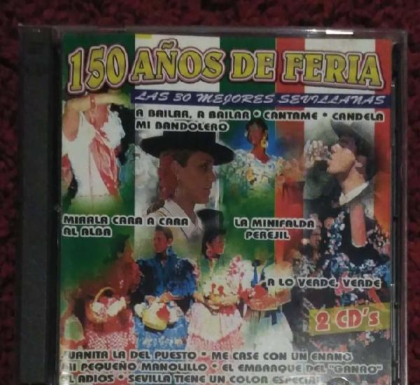 150 años de feria - 2 cd's 1996 (maria del monte, ecos del