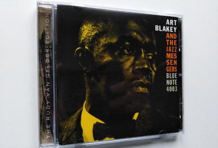 Art blakey and the jazz messengers-moanin' (cd.blue) reed.