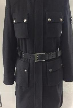 Belstaff black label: abrigo militar. original