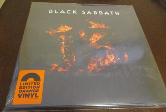 Black sabbath - 2 lp- 13 - vinilo naranja - ozzy osbourne -