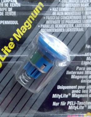 Bombilla linterna mitylite magnum de peli