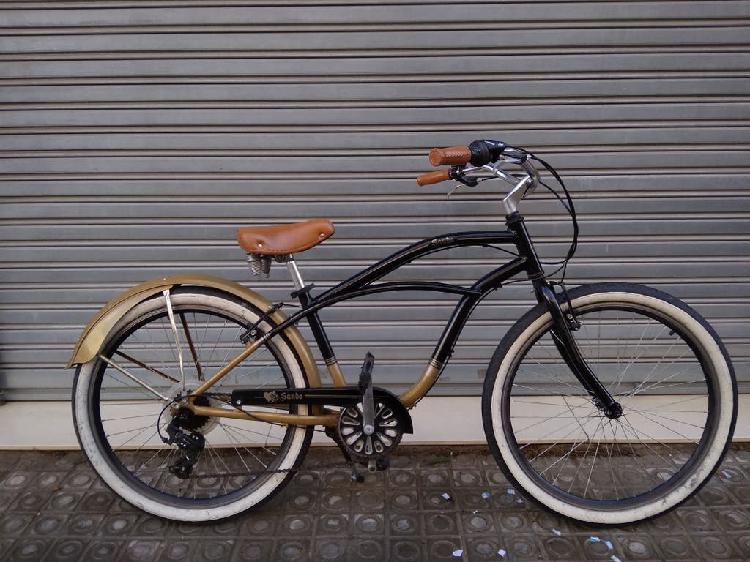 Bicicleta paseo cruiser