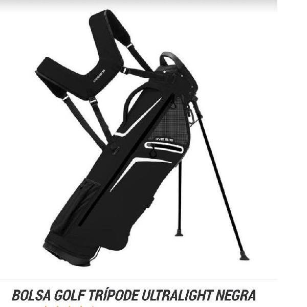 Bolsa golf trípode ultraligth negra