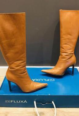 Botas piel marca fluxá talla 37