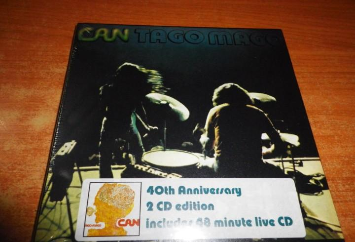 Can tago mago live doble cd digipack precintado edicion 40