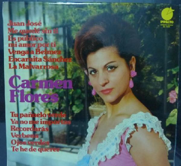 Carmen flores // juan jose+otras // 1974 // (vg vg).lp