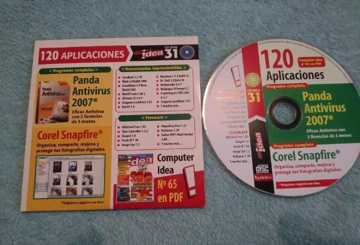 Cd computer idea 31 120 aplicaciones