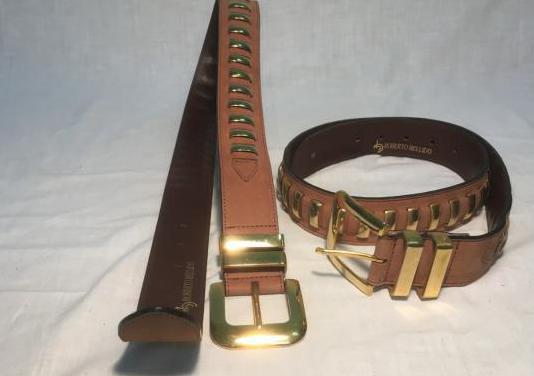 Cinturon roberto bellido, piel genuina
