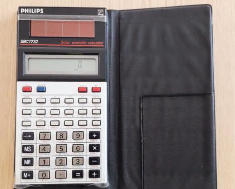Calculadora científica solar phillips