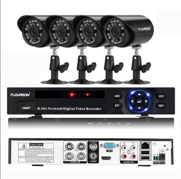 Camera security kit vigilancia nuevo nunca se usó