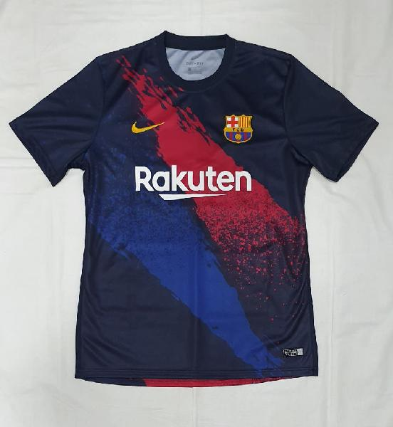 Camiseta pre-match fcb