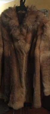 Chaquetón de piel de lobo