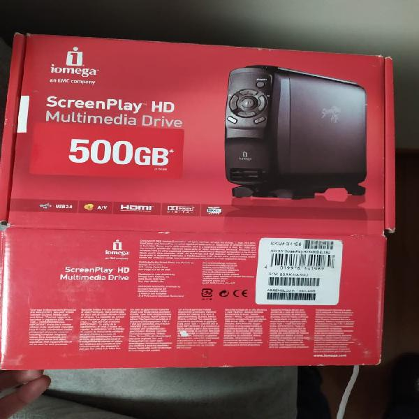 Disco duro multimedia 500gb