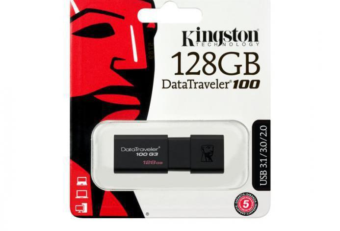 Dt100g3/128pendrive kingston dt unidad flash usb 128gb
