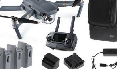 Dron mavic pro combo