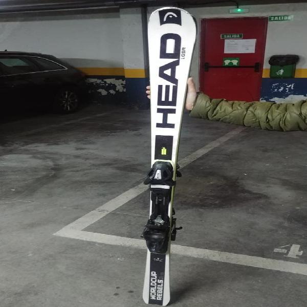 Esquís slalom gama alta head worldcup