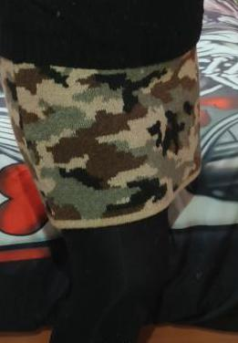 Falda camuflage talla xl (solo probada)