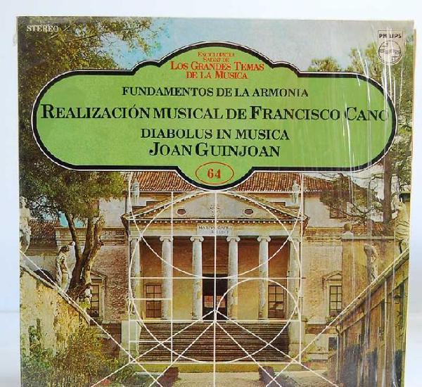 Francisco cano - fundamentos de la armonía. diabolus in