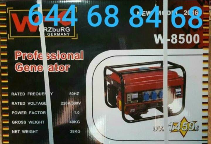 Generador de luz 8500 wattios nuevo precintado