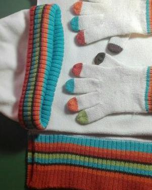 Gorros, bufandas, guantes y calentadores