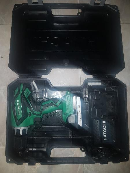 Hitachi taladro atornillador percutor a bateria