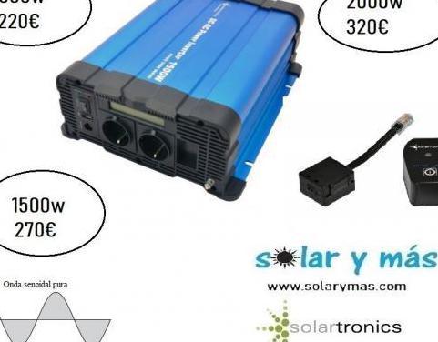 Inversor de corriente onda pura 1500w 1000w 2000w