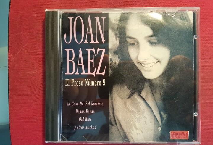 Joan baez - el preso número 9 - cd álbum - año 1994 -