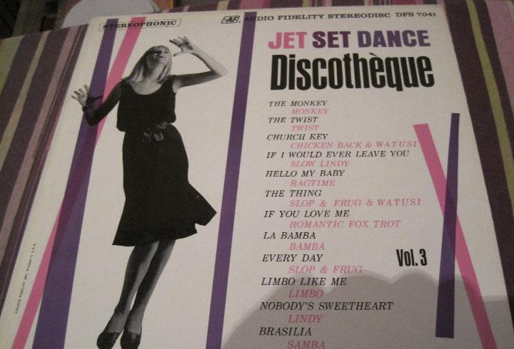 Lp jet set dance discotheque vol.3 audio fidelity dfs 7041