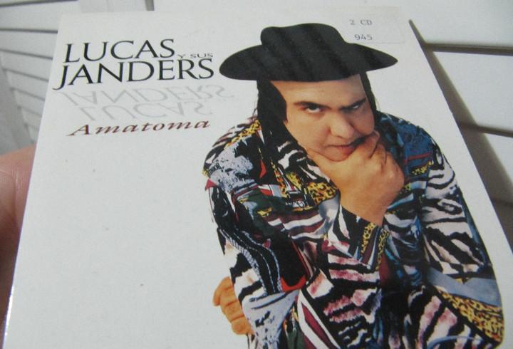 Lucas y sus janders amatoma(bossa nova baby) cd single 1997